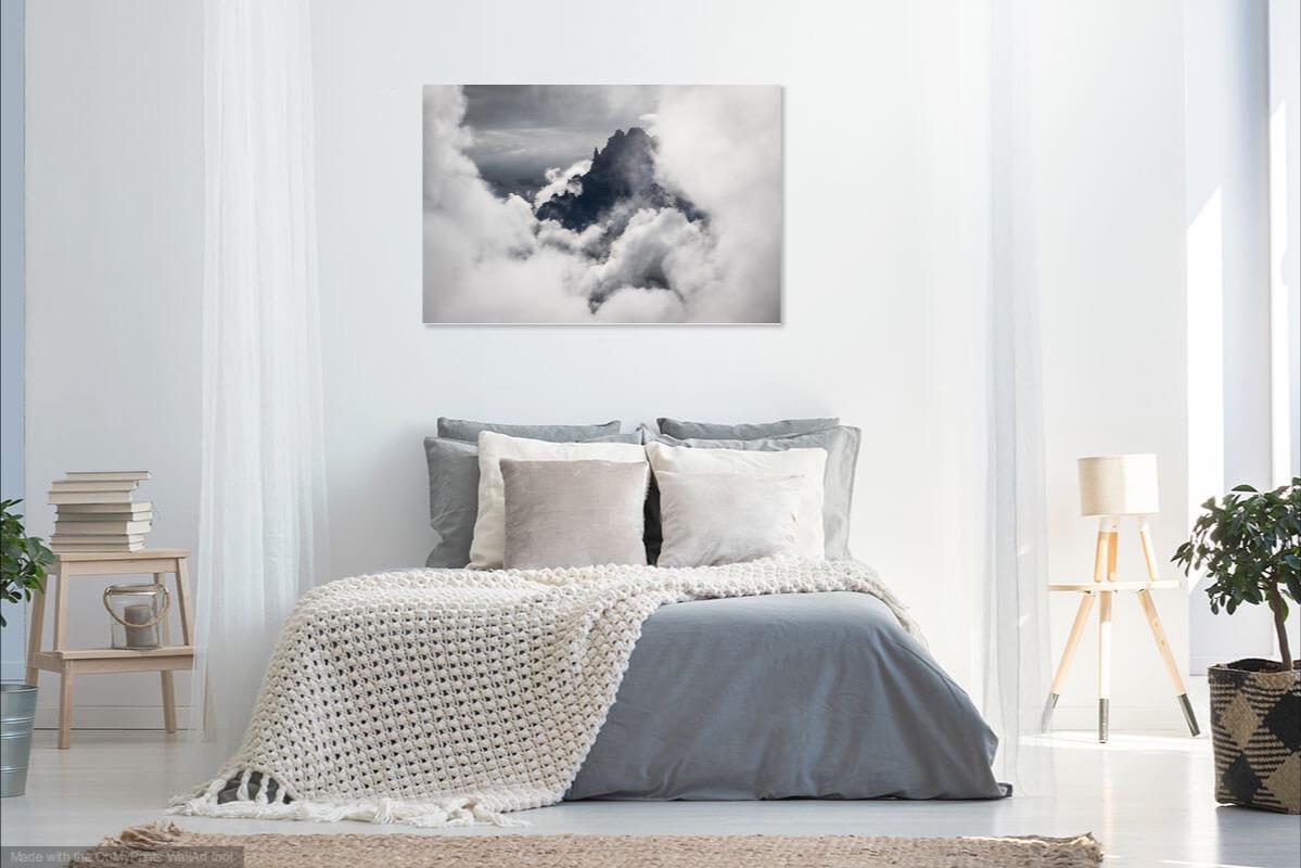 tableau photo au mur
